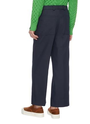 Back View - Click To Enlarge - JACQUEMUS - 'Le Pantalon Camille' patch back pocket pants