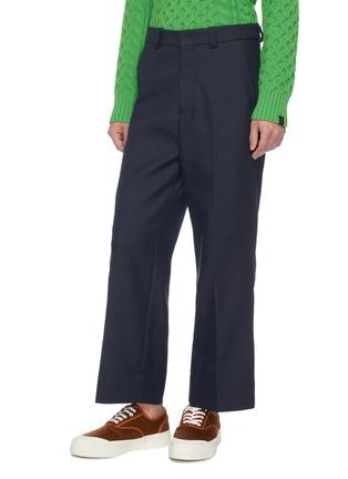 Front View - Click To Enlarge - JACQUEMUS - 'Le Pantalon Camille' patch back pocket pants