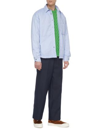 Figure View - Click To Enlarge - JACQUEMUS - 'Le Pantalon Camille' patch back pocket pants