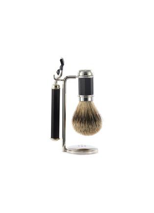 Main View - Click To Enlarge - LORENZO VILLORESI - Ebony wood shaving set