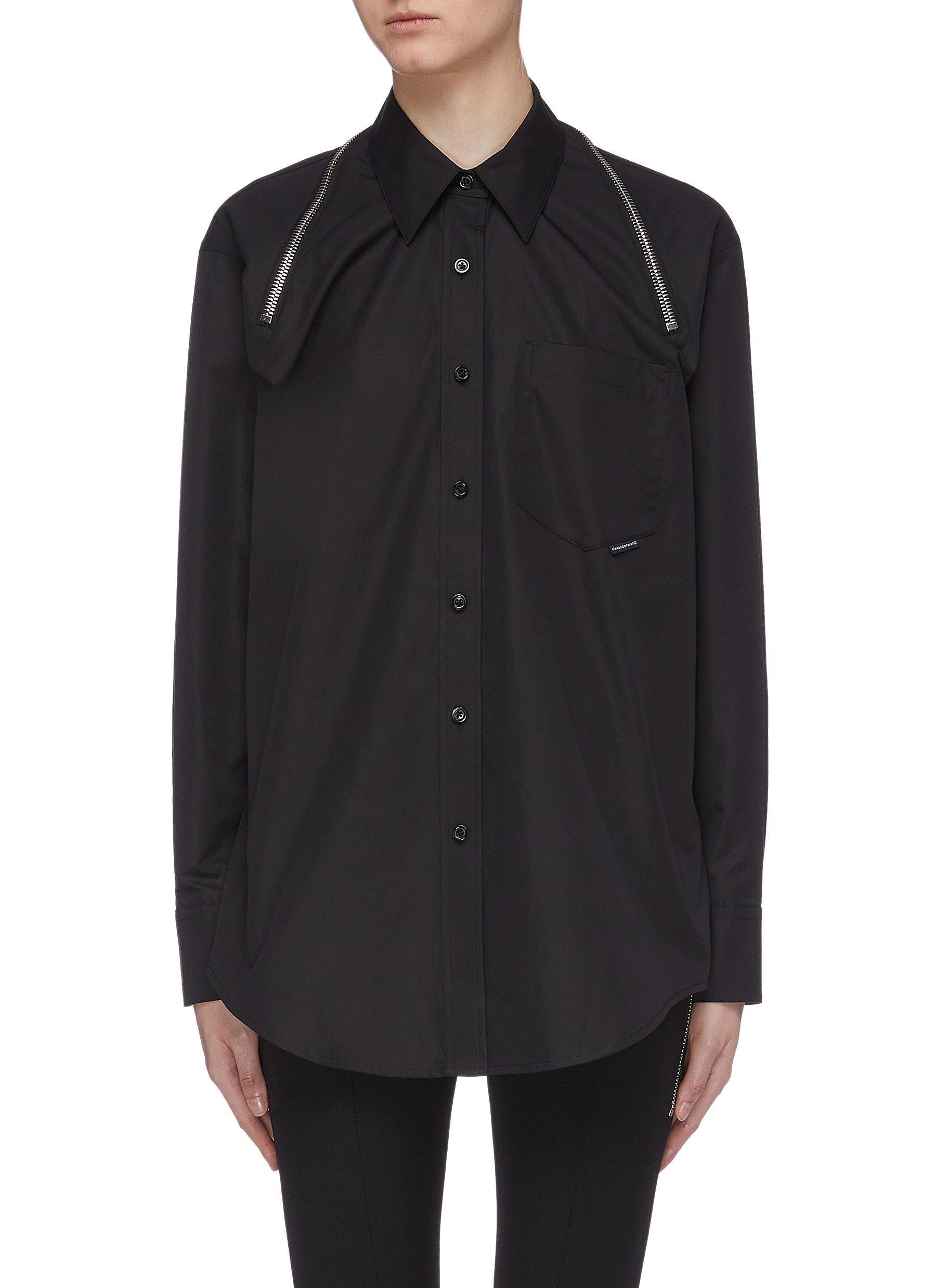Zip shoulder shirt by Alexanderwang