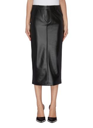 Main View - Click To Enlarge - ALEXANDER WANG - Latex skirt