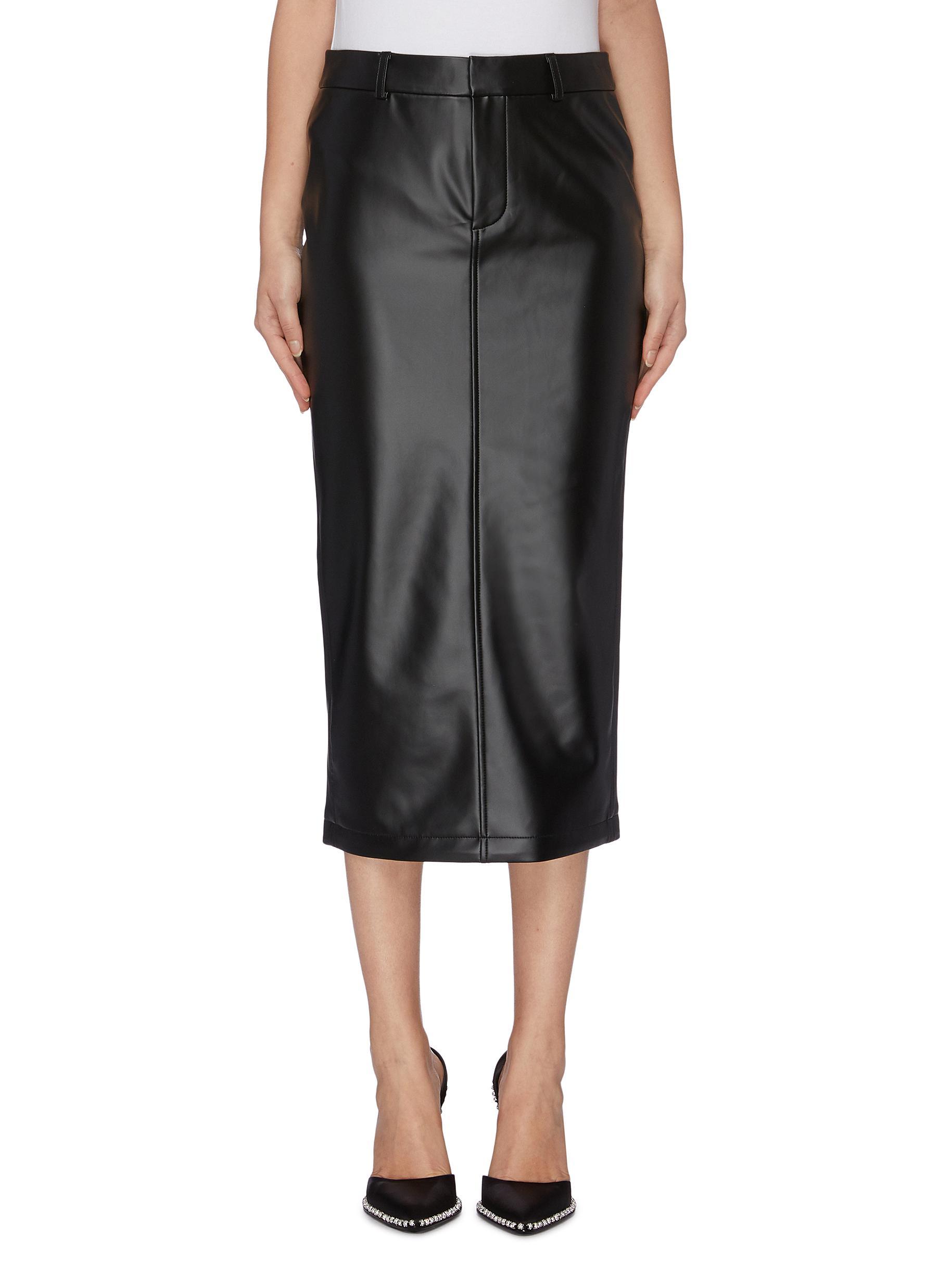 Latex skirt by Alexanderwang