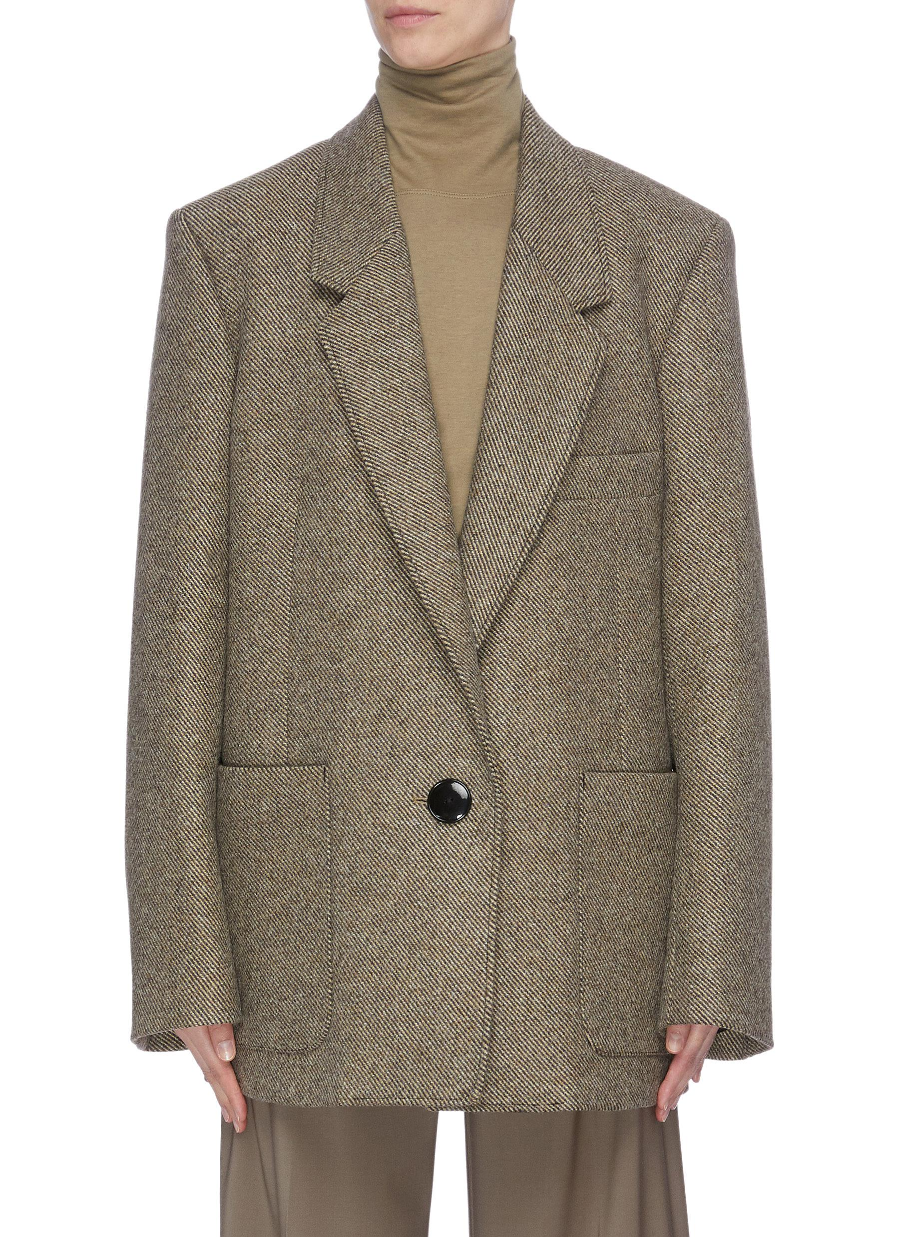 Twill blazer by Lemaire