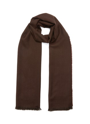 Main View - Click To Enlarge - CONNOLLY - 'Fetlar' cashmere scarf