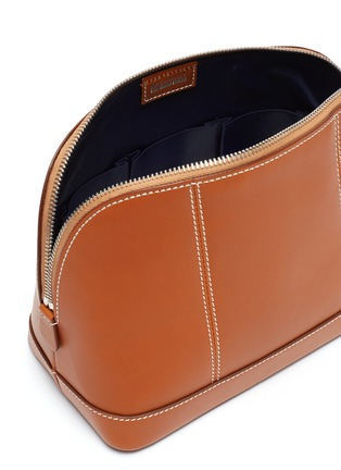 Detail View - Click To Enlarge - CONNOLLY - Small leather wash bag