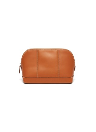 Main View - Click To Enlarge - CONNOLLY - Small leather wash bag