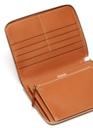 Detail View - Click To Enlarge - CONNOLLY - Leather zip around wallet