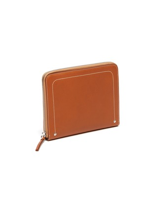 Figure View - Click To Enlarge - CONNOLLY - Leather zip around wallet
