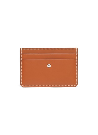 Main View - Click To Enlarge - CONNOLLY - 'Hex' leather card holder