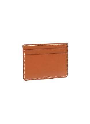 Figure View - Click To Enlarge - CONNOLLY - 'Hex' leather card holder