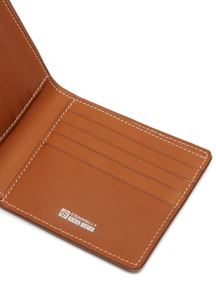 Detail View - Click To Enlarge - CONNOLLY - 'Hex' leather bifold wallet