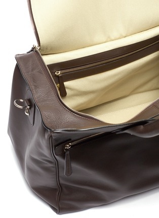 Detail View - Click To Enlarge - CONNOLLY - Medium leather sea bag