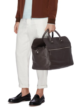 Figure View - Click To Enlarge - CONNOLLY - Medium leather sea bag