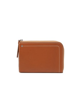 Main View - Click To Enlarge - CONNOLLY - 'Hex' medium leather zip wallet