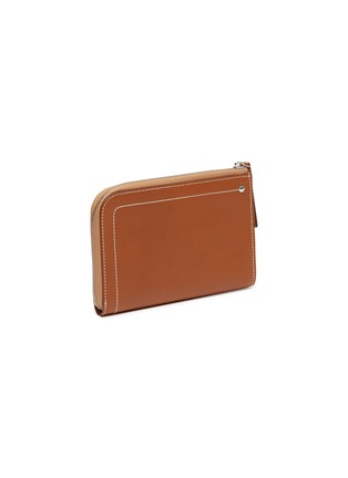 Figure View - Click To Enlarge - CONNOLLY - 'Hex' medium leather zip wallet