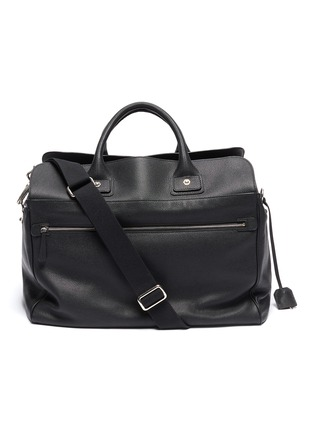 Main View - Click To Enlarge - CONNOLLY - Medium leather sea bag
