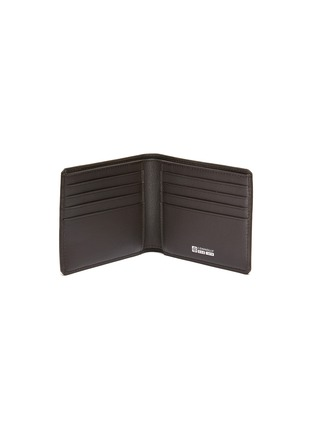 Figure View - Click To Enlarge - CONNOLLY - 'Hex' leather bifold wallet