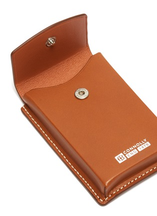 Detail View - Click To Enlarge - CONNOLLY - Leather business card holder