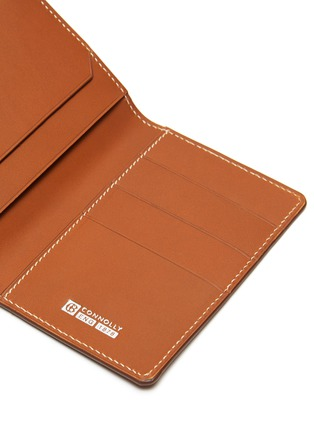 Detail View - Click To Enlarge - CONNOLLY - 'Hex' leather card case
