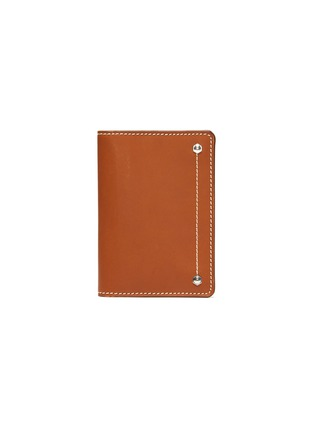 Main View - Click To Enlarge - CONNOLLY - 'Hex' leather card case