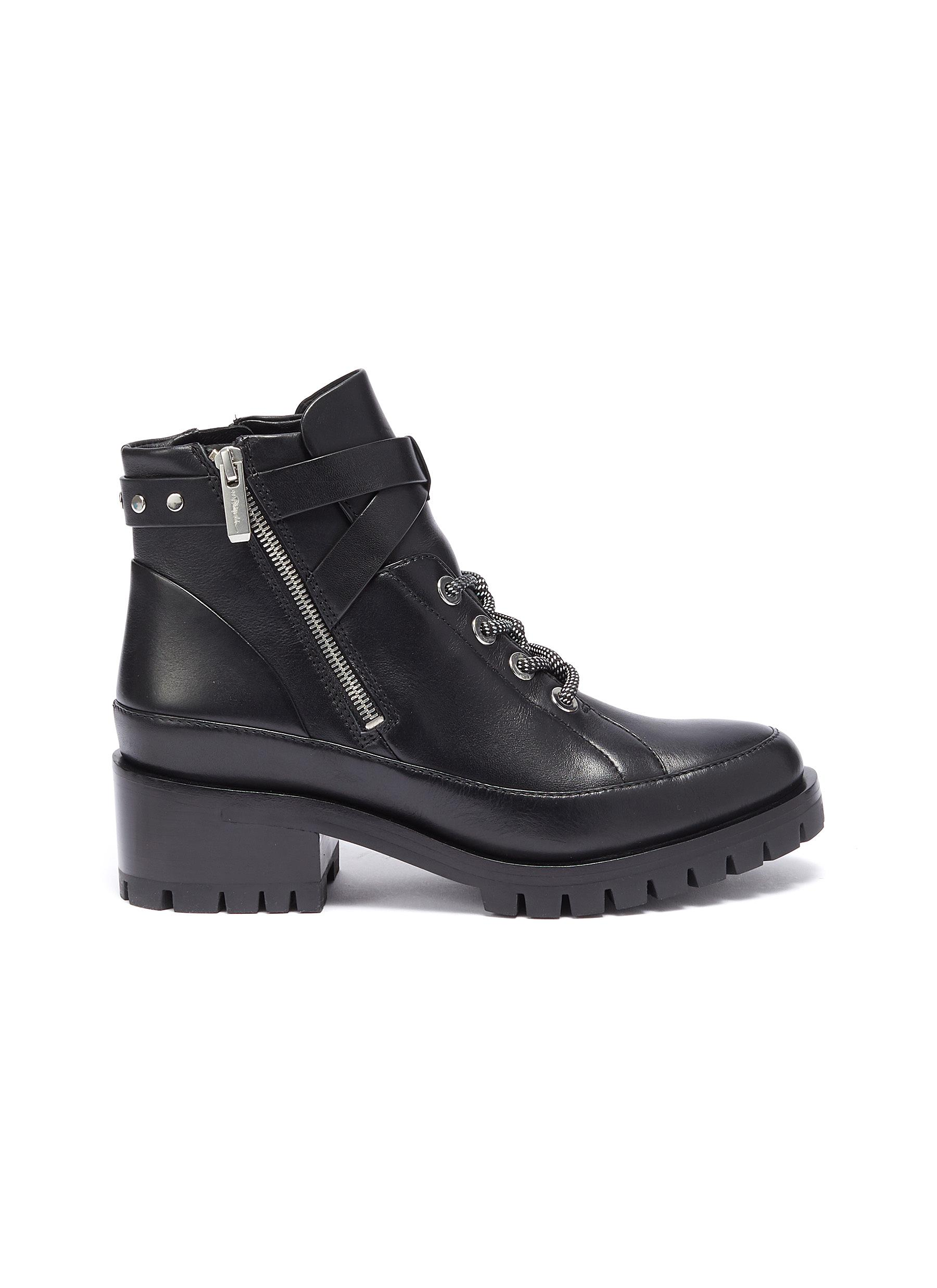 Hayett leather ankle boots by 3.1 Phillip Lim