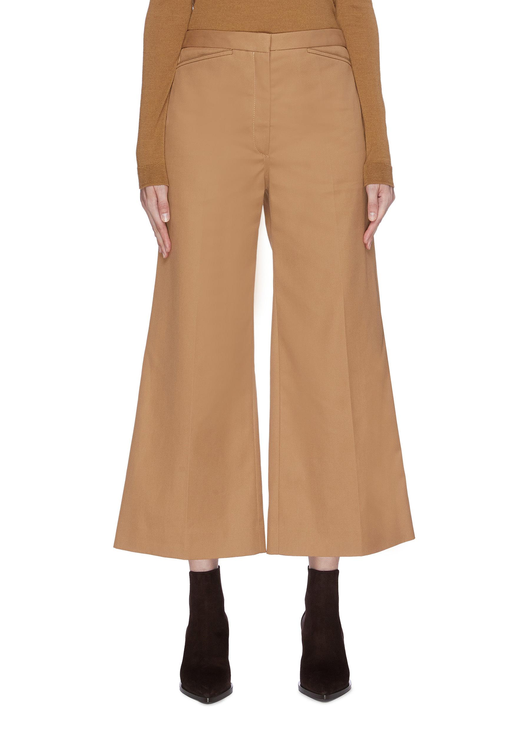 Flared pants by Lemaire
