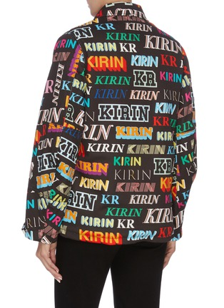 Back View - Click To Enlarge - KIRIN BY PEGGY GOU - 'Typo' mix logo print denim jacket