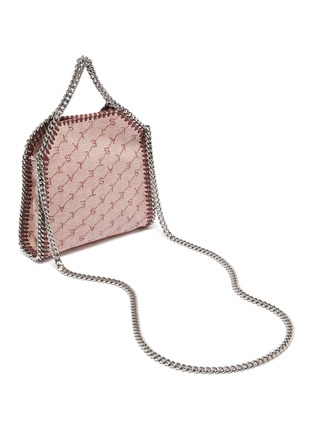 Detail View - Click To Enlarge - STELLA MCCARTNEY - 'Falabella' perforated logo mini chain tote