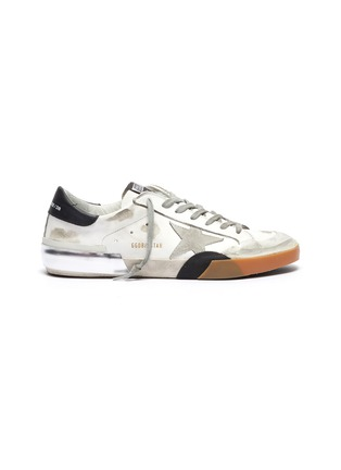 Main View - Click To Enlarge - GOLDEN GOOSE - 'Superstar' layered outsole leather sneakers