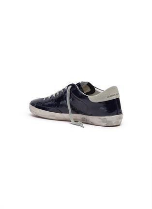 - GOLDEN GOOSE - 'Superstar' crinkled effect leather sneakers