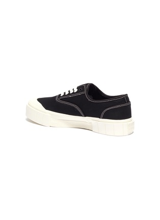 - GOOD NEWS - 'Bagger 2' contrast topstitching cotton sneakers