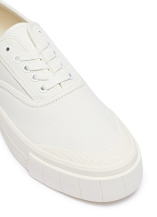 Detail View - Click To Enlarge - GOOD NEWS - 'Bagger 2' cotton high top sneakers