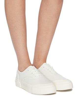 Figure View - Click To Enlarge - GOOD NEWS - 'Bagger 2' cotton high top sneakers