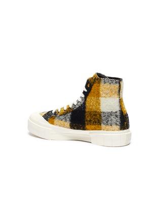 - GOOD NEWS - 'Softball 2' checkered wool high top sneakers