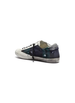 - GOLDEN GOOSE - 'Superstar' check plaid sneakers