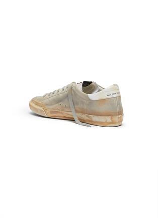 - GOLDEN GOOSE - 'Superstar' paint stroke leather sneakers