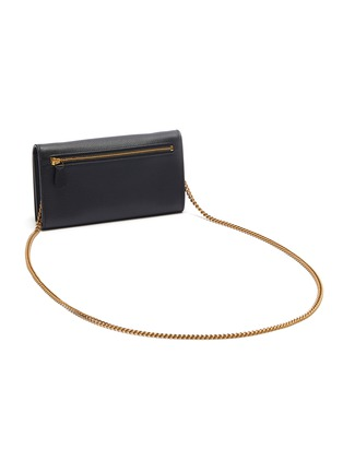 Detail View - Click To Enlarge - BALENCIAGA - 'Ville' leather chain phone wallet
