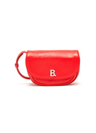 Main View - Click To Enlarge - BALENCIAGA - 'Soft Round XS' leather crossbody bag