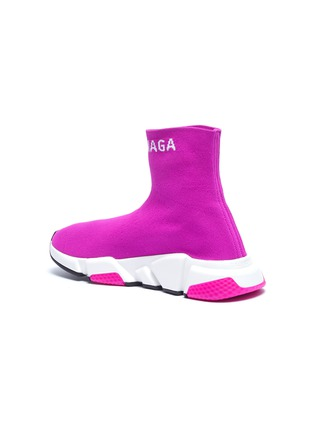 - BALENCIAGA - 'Speed' logo cuff knit slip-on sneakers