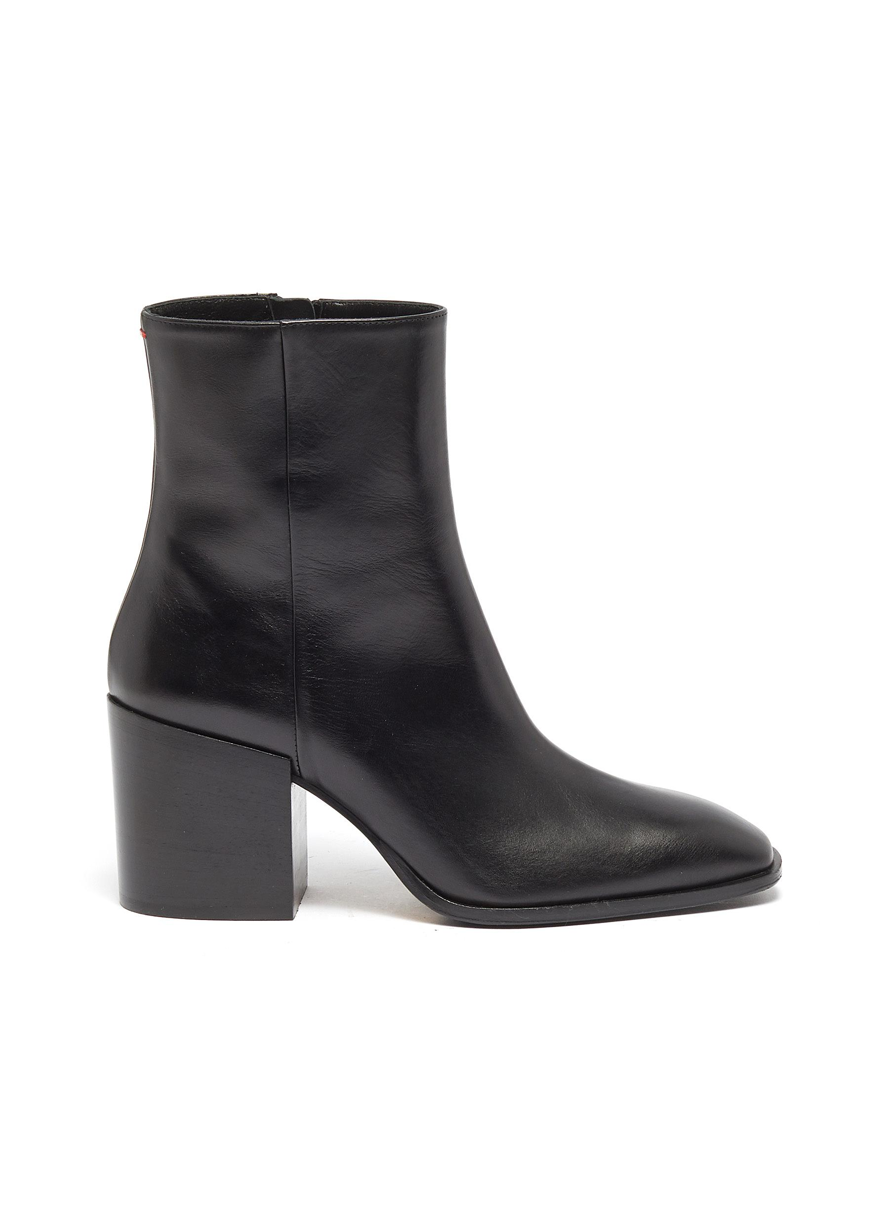 Leandra leather ankle boots by Aeyde