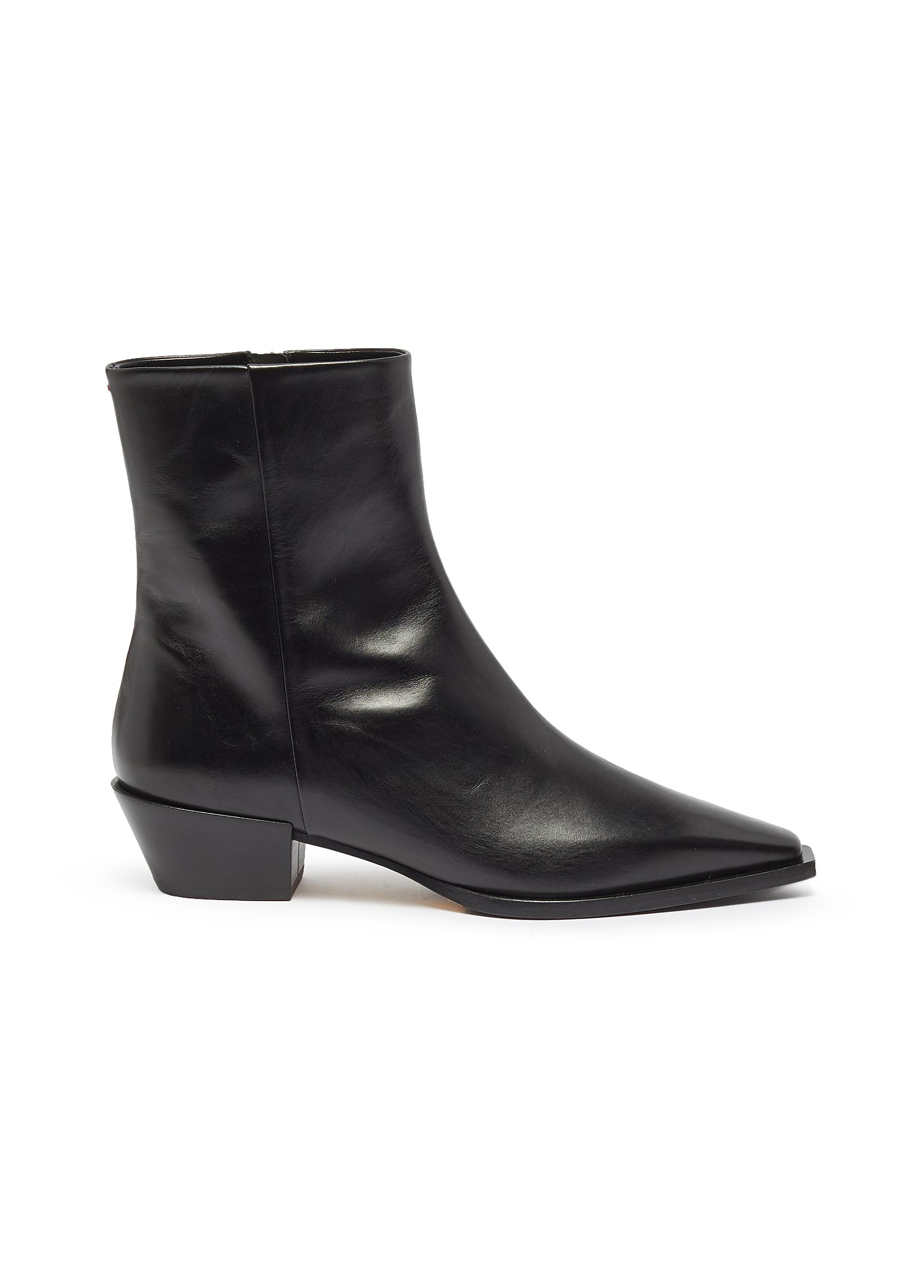 Ruby leather ankle boots by Aeyde