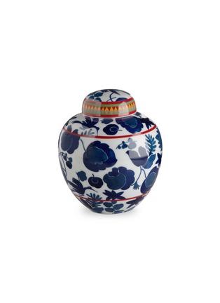 Main View - Click To Enlarge - LA DOUBLEJ - x Ancap big tea jar –Wildbird Blu