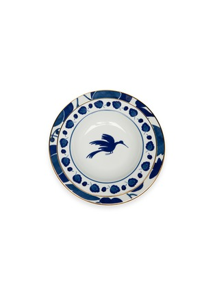 Main View - Click To Enlarge - LA DOUBLEJ - x Ancap dinner and soup plate set –Wildbird Blu