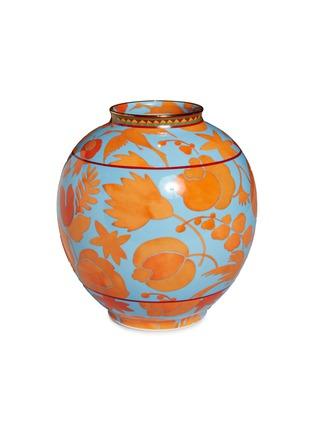 Main View - Click To Enlarge - LA DOUBLEJ - x Ancap bubble vase – Wildbird Azzurro/Arancio