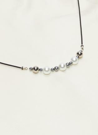 - ELLERY - 'Critical Acclaim' pearl beaded belt-detailed maxi skirt