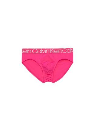 Main View - Click To Enlarge - CALVIN KLEIN UNDERWEAR - 'CK Complex' logo waistband briefs