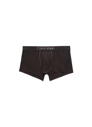Main View - Click To Enlarge - CALVIN KLEIN UNDERWEAR - 'CK Black' logo waistband boxer briefs