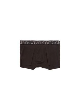 Main View - Click To Enlarge - CALVIN KLEIN UNDERWEAR - 'CK Complex' logo waistband cotton boxer briefs