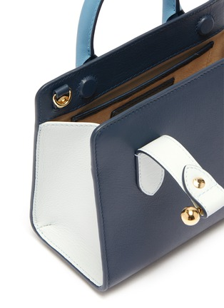 Detail View - Click To Enlarge - STRATHBERRY - 'The Strathberry Nano' colourblock leather tote
